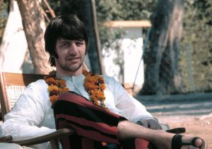 Ringo was calm, quiet, almost motionless as I took this. Of the four Beatles, he appeared the most serene, the most grounded, the most at ease with who he was. I find Ringo's gentle shyness endearingly revealed in this photograph.