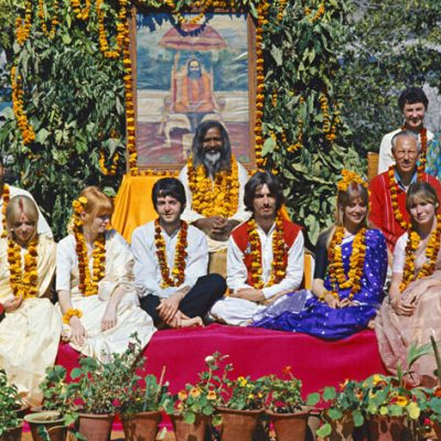 Photos - The Beatles in India