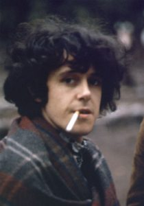Donovan was soft-spoken and friendly, with a shy, almost internal smile. He and the Beatles were longtime friends and he wrote Sunshine Superman in admiration of them. While he was at the ashram he wrote Hurdy Gurdy Man and Jennifer Juniper, written for Jenny Boyd, Pattie's sister.