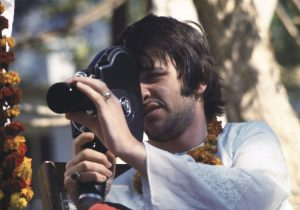 "Ringo asked me to shoot some film for him using his 16mm camera. When I finished, he handed me a fresh roll of film. ""Here Paul, shoot this for yourself and keep it, for the fun of it."" Then he playfully added, in his wonderful Liverpudlian accent, ""And who knows, it might be worth some money one day."""
