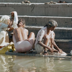 Washing on the Ghats