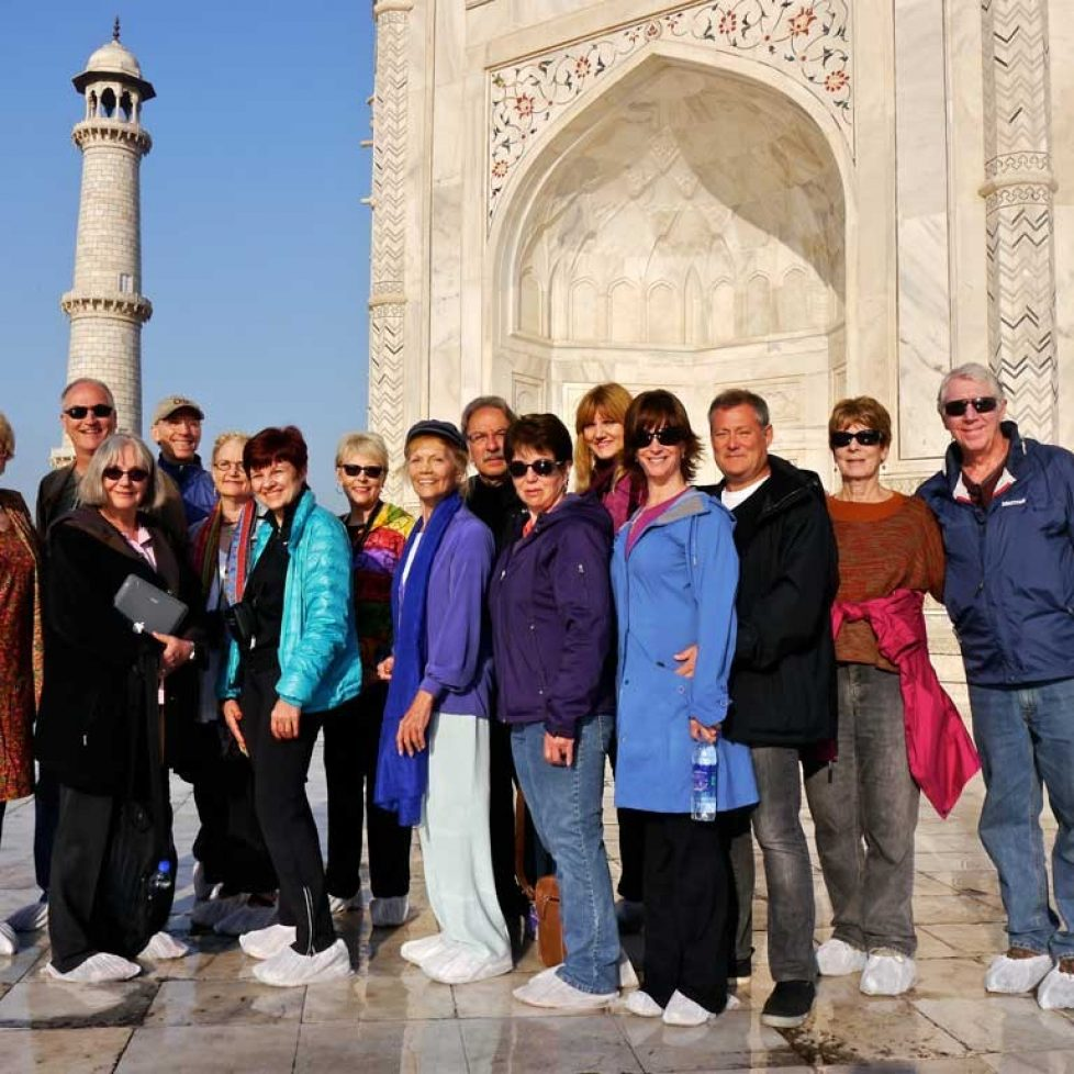 INDIA-2013 Taj Mahal Group