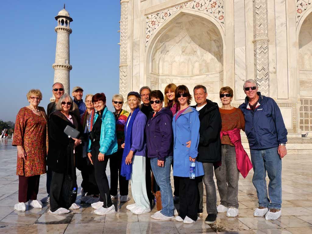 INDIA-2013 Taj Mahal Group
